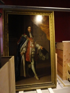 Just one of our paintings you can get eye to eye with in the Mansion for the first time.